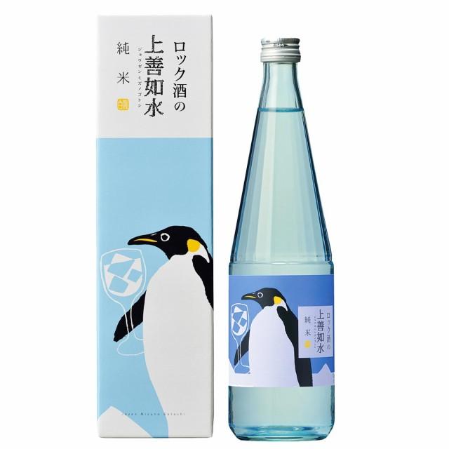 白瀧酒造 ロック酒の上善如水 純米 720ml