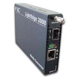 FXC RJ45X1 to SFPX1 Giga対応メディアコンバータ...