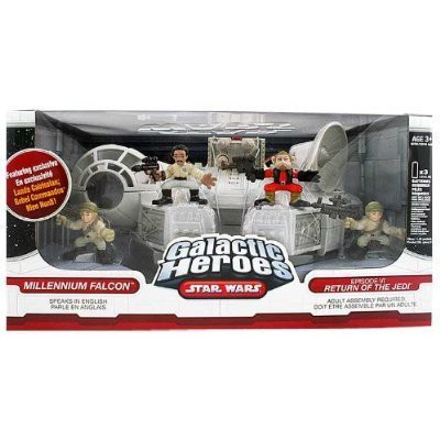 Star Wars Galactic Heroes Millennium Falcon wi...