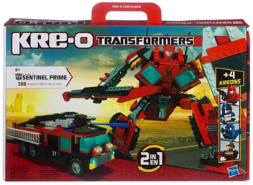 Hasbro KRE O Transformers Sentinel Prime(中古...