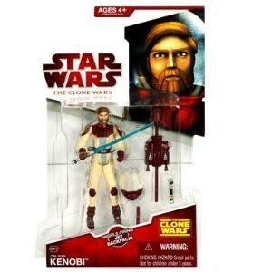 Star Wars Animated Clone Wars Obi Wan Kenobi C...