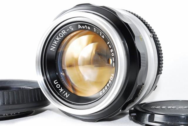 Nikon MFレンズ NIKKOR-S Auto 50mm F1.4 非Ai(中...