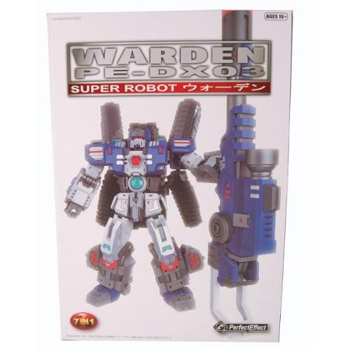 Warden PE-DX03 Super Robot Action Figure(中古...