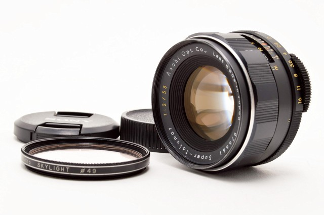 Pentax Super-Takumar 55mm 1:2 M42(中古品)