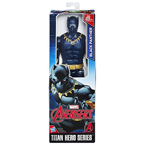 Marvel Titan Hero Series 12-inch Black Panther...