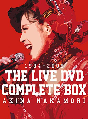 中森明菜 THE LIVE DVD COMPLETE BOX(中古品)