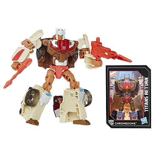 Transformers TRA GEN DELUXE CHROMEDOME Action ...