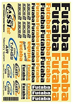 Futaba DECAL SHEET FOR AIR BB1180(中古良品)
