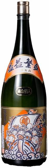 益々繁盛 [ 日本酒 福島県 4500ml ] [ギフトBox入...