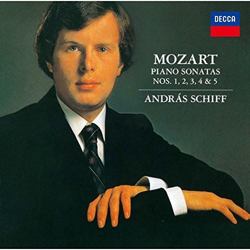 モーツァルト:ピアノ・ソナタ集Vol.1