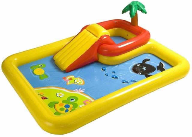 家庭用プール インテックス インフレータブル オーシャンプレイセンター Intex お庭水遊び