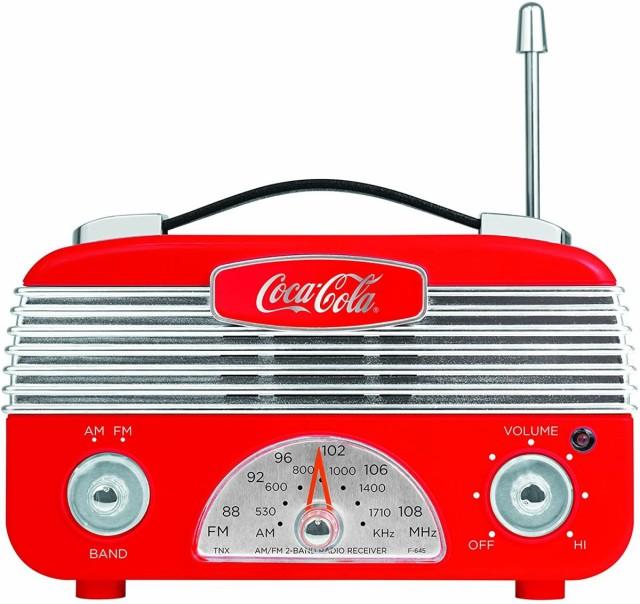 コカ・コーラ AM/FMラジオ Coca-Cola CCR01 レト...