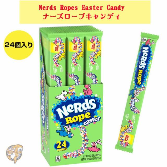 ナーズ ロープキャンディ Nerds Ropes Easter Can...