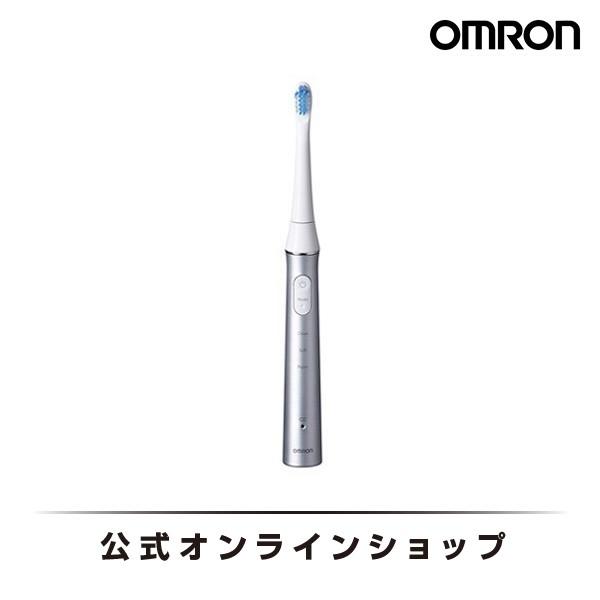オムロン 公式 音波式電動歯ブラシ シルバー HT-B314-SL メディクリーン 送料無料 送料無料