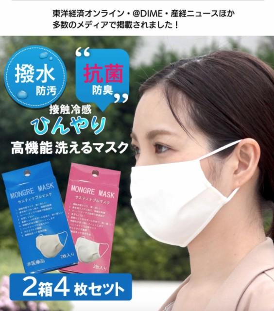 冷感マスク 接触冷感マスク 夏用マスク ひんやり ...