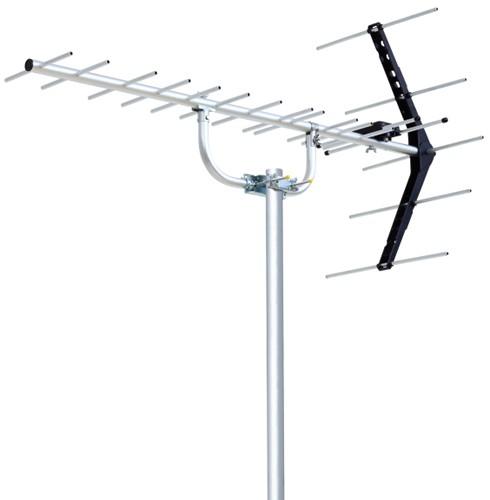 DXアンテナ ローチャンネル UHF14素子アンテナ UL...