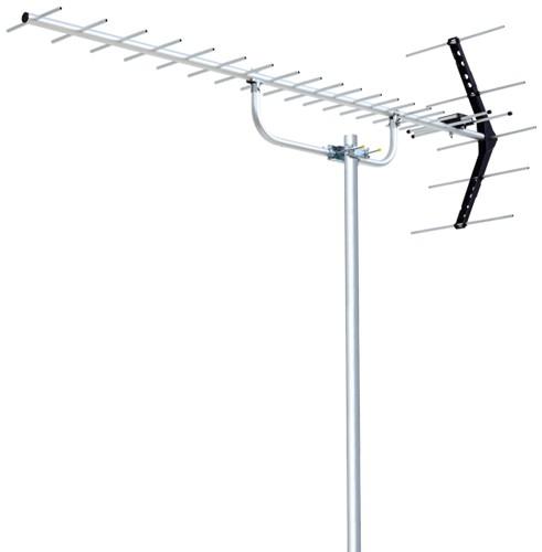 DXアンテナ ローチャンネル UHF20素子アンテナ UL...