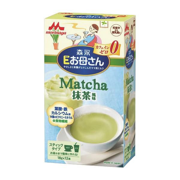 森永)Eお母さん 抹茶風味 18g×12本[西松屋]