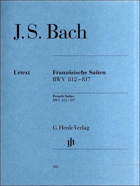 (593)バッハ フランス組曲 BWV812−8...