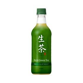 「送料無料」 キリン 生茶 525mlペット 1ケー...