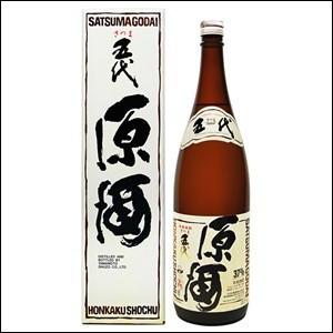 「送料無料」 さつま五代原酒 37度 1.8L(1800...
