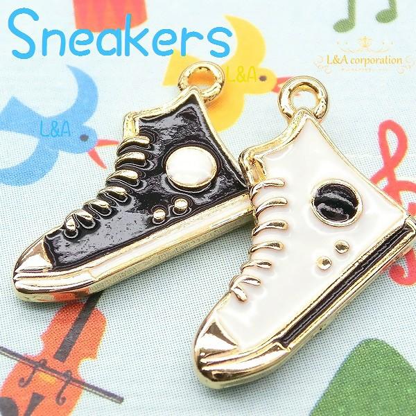 【2個】high cut sneaker 小さい靴のデザインチャ...