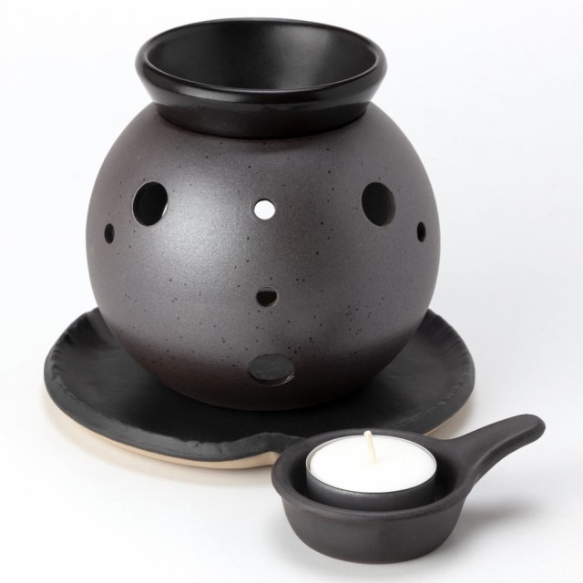 茶香炉 丸型 (2148-1-86) 茶葉の香りを楽しむア...