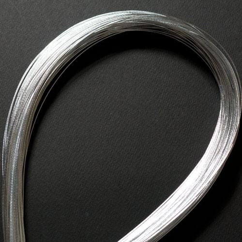 単色水引100本セット 光 銀 (MZH-18) 工作用・...