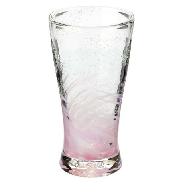 琉球ガラス 海蛍アイスロンググラス ピンク (74...
