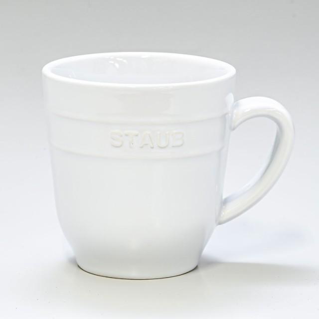 ストウブ マグカップ セラミック 350ml ホワイト ...