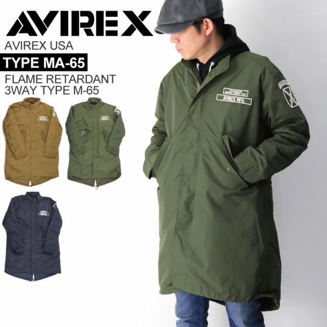 AVIREX(アビレックス) アヴィレックス 3WAY タイ...