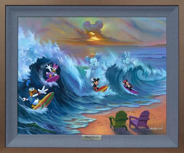 ディズニー「ミッキーマウス/サーフィン・ウィズ...