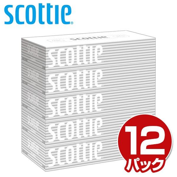 スコッティ (SCOTTIE) ティッシュペーパー 200組 ...