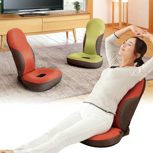 勝野式 美姿勢習慣コンフォート  椅子 座椅子 リクライニング おしゃれ 肩コリ 肩こり 猫背 姿勢矯正 姿勢補正 勝野式 チェア リアラック