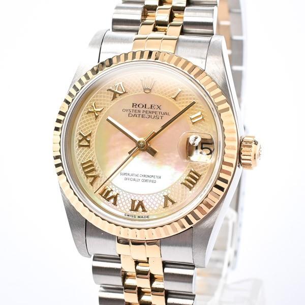ロレックス メンズ腕時計 デイトジャスト 68273NR...