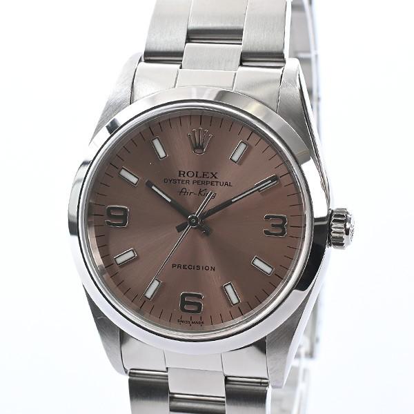 ロレックス メンズ腕時計 エアキング 14000 ステ...