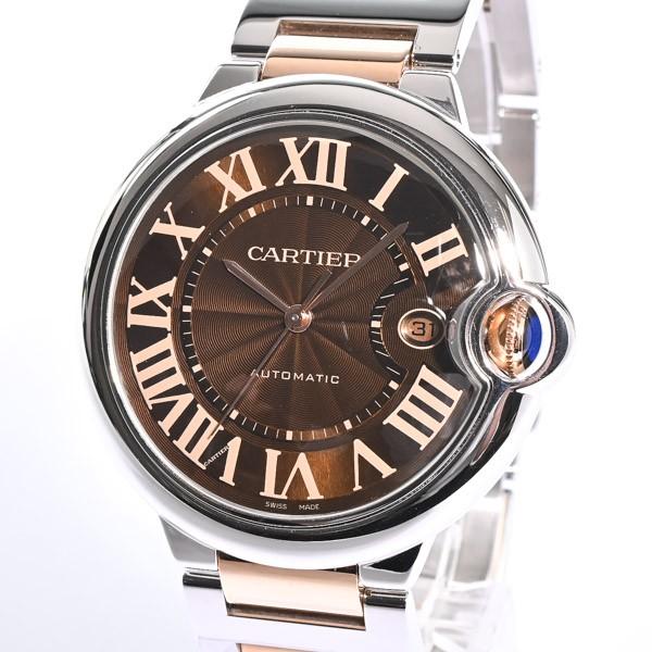 カルティエ CARTIER バロンブルーLM メンズ腕時計...