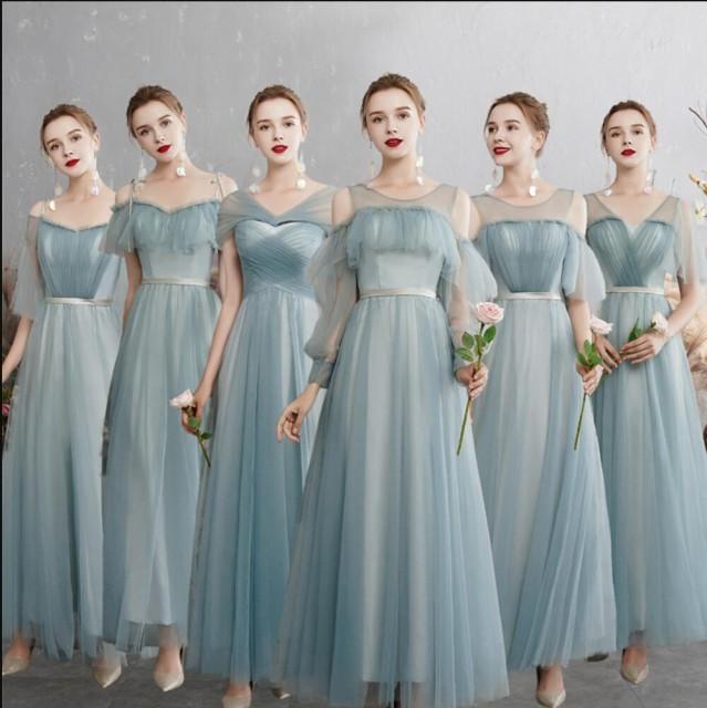 ブライズメイド ドレス パーティードレス 結婚式 ...