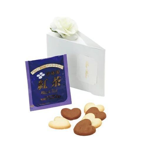 スノー・ジュエル 単品 ハートクッキー6枚 紅茶1...