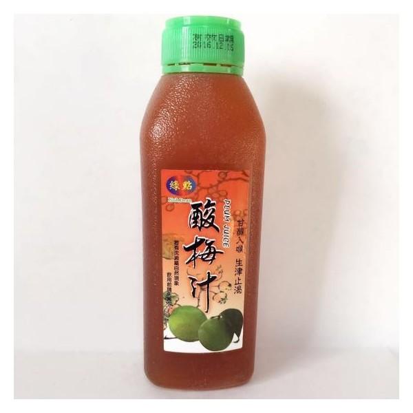 ウメジュース 酸梅汁 ポリ瓶460ml 台湾産さん...