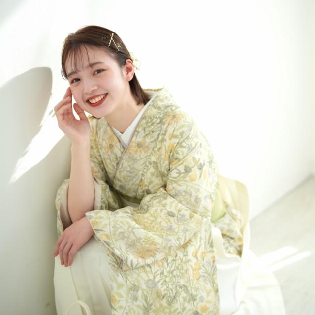 【レンタル】  utatane 2尺袖着物 袴 17点セット ...
