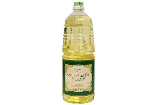 太白胡麻油 1650g(パンケーキ)