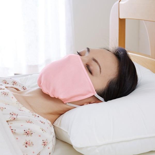立体形状シルクおやすみマスク シルク100% 乾燥...