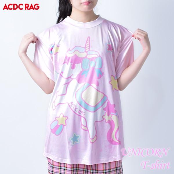ACユニコーンT Tシャツ 半袖 レディース ユニコー...