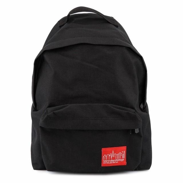 マンハッタンポーテージ バックパック Big Apple Backpack 1210 メンズ レディース 男女兼用 リュックサック BLACK ブラック