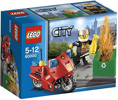 レゴ (LEGO) シティ ファイヤーバイク 60000(中古...