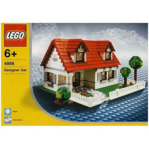 LEGO デザイナー マイホーム 4886(中古品)