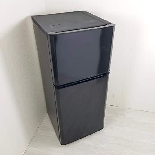 ハイアール 121L 2ドア冷凍冷蔵庫 ブラック JR-N1...