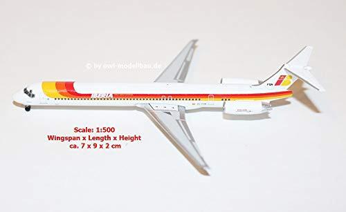 herpa 1/500 MD-88 イベリア航空 EC-FGM トーレ ...