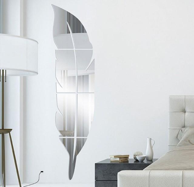 ミラー ウォールステッカー 割れない鏡 DIY 壁鏡 ...
